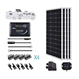 Renogy 400 Watts 12 Volts Monocrystalline Solar RV Kit Off-Grid Kit...