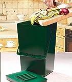 Garland 9 litres de recyclage de Compost pour cuisine avec filtre anti-odeurs