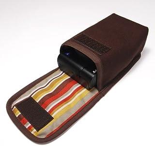カメラケース デジカメ ソニーサイバーショット DSC-RX100M5 /M4 /M3ケース(ココア)-タテ型 -suono(スオーノ)-ハンドメイド