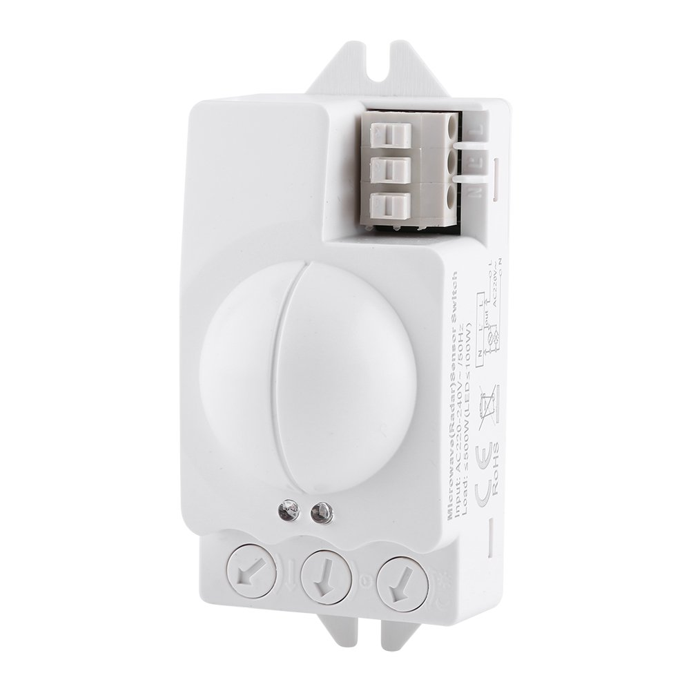 Motion Sensor Light Switch Asixx 1pc 500W Moti Degree 360 Radar Sale price Limited time cheap sale