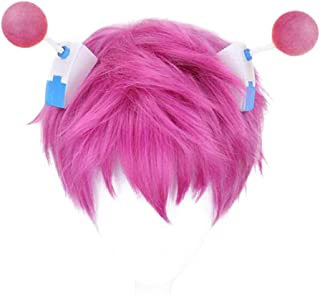 Saiki Kusuo no sai-nan Main Character Cosplay Wig Xcoser Pink Hair for Men Boy