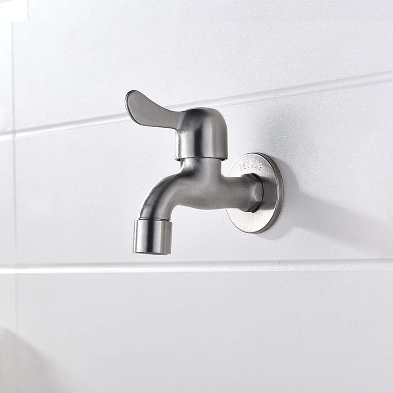 XZDXR Faucet mop pool faucet 304 stainless steel faucet
