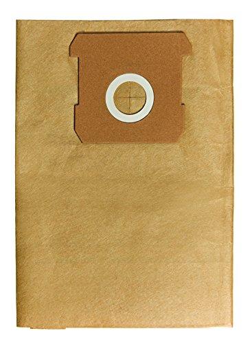 Einhell Original Bolsa de suciedad de 12 L (apta para las aspiradoras en seco y húmedo de Einhell, 5 piezas incluidas)