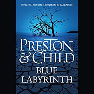Blue Labyrinth audiobook cover art