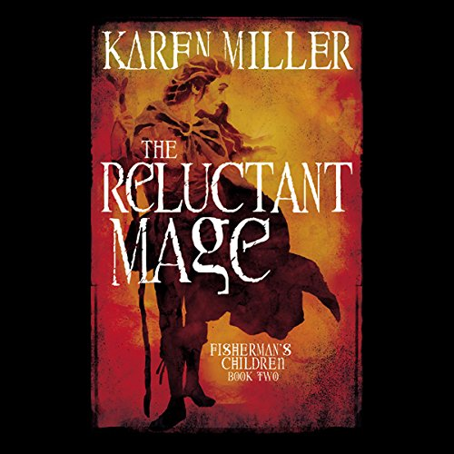 The Reluctant Mage audiobook cover art