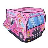 Nuheby Kinderzelt Spielzelt Spielhaus für Kinder Draußen Drinnen Faltbar Auto Zelt Geschenke Spielzeug ab 3 4 5 6 Jahre Junge Mädchen