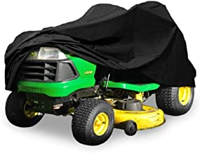 Heavy Duty 420 Denier Riding Lawn Mower Cover By Premium Products - Fits Decks up to 54