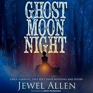 Ghost Moon Night audiobook cover art