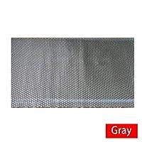 カーアクセサリー カーサウンドDeadenerマットフードエンジンファイアウォールのノイズ断熱防音材熱材質アルミ泡ステッカーフィット アクセサリー (Color Name : Gray)