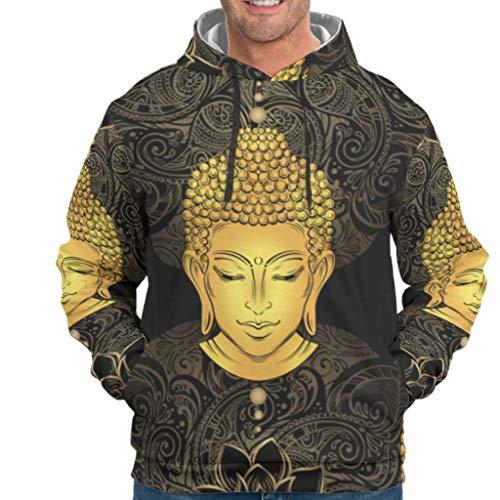 Twelve constellations Herren Hoodies Gold Popular atmungsaktiv - Muster Sweatshirt White 2XL