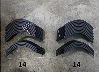 14 Each LH & RH Tines for Land Pride RTA2555-4 # 820-057C / 820-058C 28 TOTAL