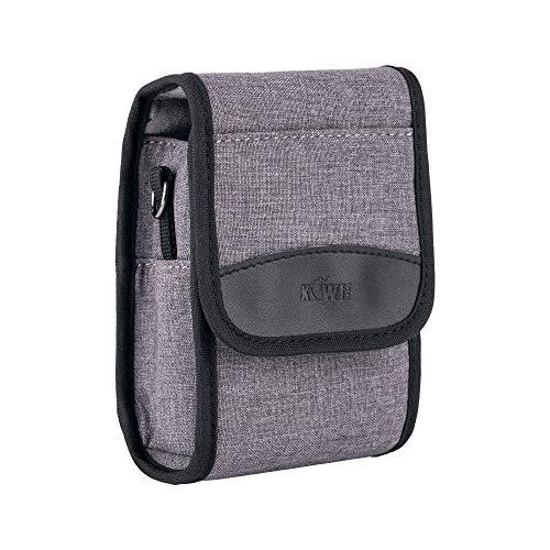 Kompakte Kameratasche für Digitalkamera Canon G7X G5XII Sony ZV-1 RX100 Serie Ricoh GR II GR III usw. Passend für Kameras bis zu 13 x 7,9 x 5,1 cm