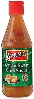 AYAM Ginger Sweet Chilli Sauce | Natural Ingredients | Spicy, Sweet & Garlic | Gluten, Shellfish, Dairy, Egg & Nut Free | ...