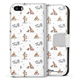 DeinDesign Étui Compatible avec Apple iPhone 5s Étui Folio Étui magnétique Winnie l'ourson...