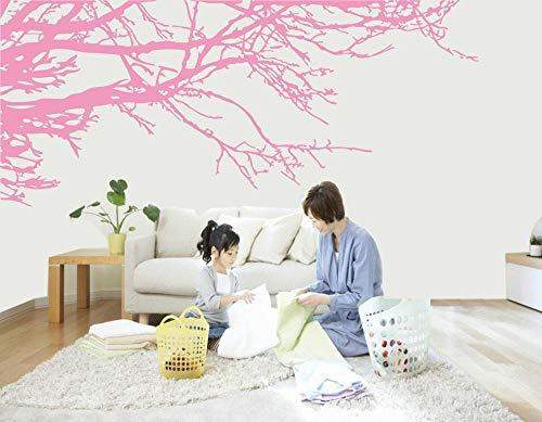 Terilizi Giant Prachtige takken Afneembare Vinyl Wall Art Sticker Home Decorating Poeder Boom Chinese Stijl Landschap Landschap Schilderen 80X200Cm