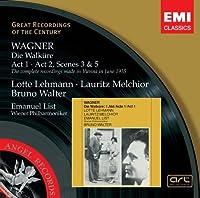 Wagner: Die Walkure - Act 1 & Act 2, Scenes 3 & 5