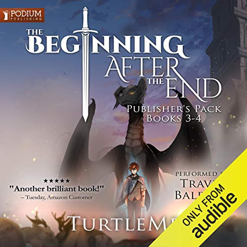 The Beginning After the End: Publisher's Pack 2 audiobook cover art