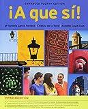 Bundle: A que si!, Enhanced, 4th + iLrn Advance Printed Access Card + SAM
