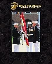Church Hill Classics U.S. Marines Portrait Frame - Featuring Raised Globe Pattern - Photo Size 5x7