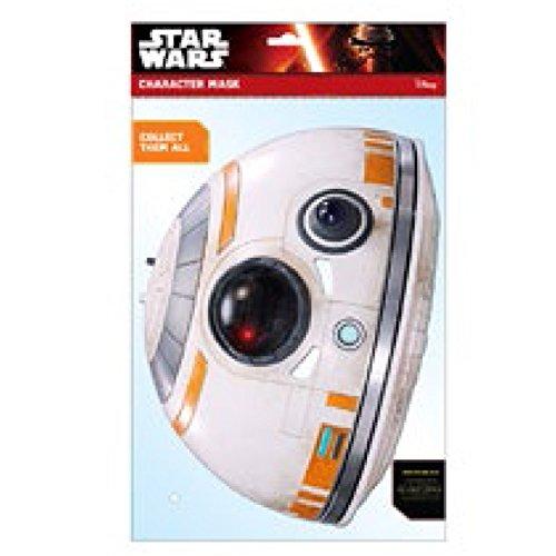 Générique - MA1338 - Masque Adulte en Carton - Star Wars - BB - 8 - Taille Unique