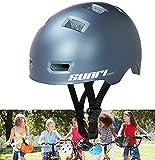 SUNRIMOON Skateboard Helmet for Kids Youth and Adults,Bike Helmet Cycling Helmet for Kids,Adjustable Scooter Helmet Multi Sports...