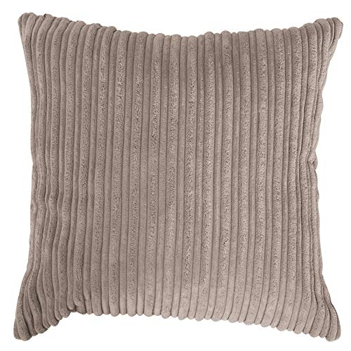Lounge Pug, Cojines (2 tamaños: 47 cm / 70 cm), Pana Clásica Visón