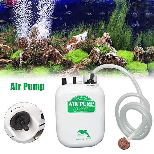 kaikki wasserdichte tragbare sauerstoffpumpe große Power Batterie Angeln Aquarium luftpumpe doppelte Geschwindigkeit Einstellung Lange gebrauchszeit