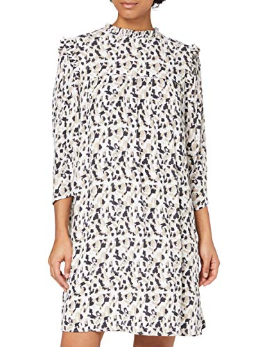 edc by ESPRIT Damen 110CC1E320 Kleid, Off White 4 (113), 40