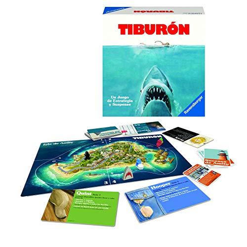 Ravensburger Tiburón, Juego de mesa, Versión Española, 2-4 Jugadores, Edad recomendada 12+...
