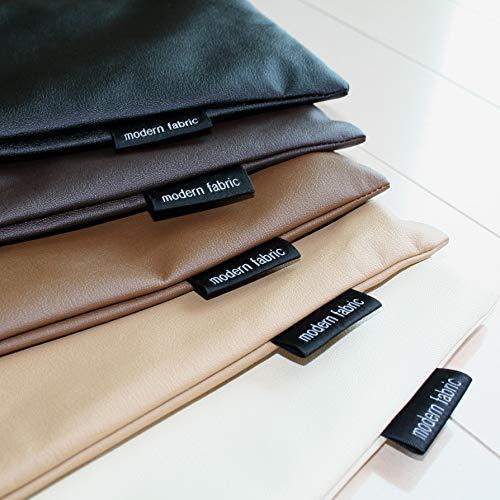 長座布団カバー modern fabric 60x120cm 合皮レザー 合成皮革 ごろ寝マットカバー 日本製 (モカブラウン)