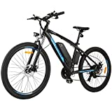 ANCHEER E Bike/Mountainbike/Elektrofahrrad mit 250W Motor und 36v-10Ah Batterie, 27.5 Zoll...