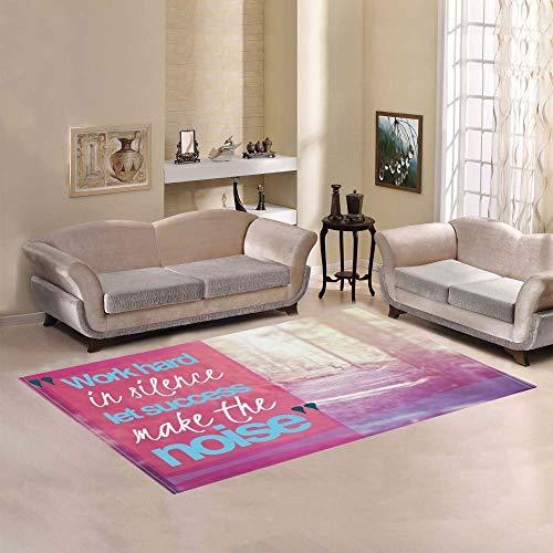 Qinzuisp doormat werken, stil, laat de exit geluid in de woonkamer maken. Visco-elastisch schuim. 152 x 213 cm. Modern tapijt van Area decoratief tapijt.