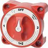 Blue Sea Systems 661-9001E Interruptor batería serie e 1/2/both/off