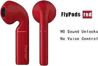 Huawei Honor Flypods,Wireless Earphone Hi-Fi WIRELESS AUDIO,Waterproof IP54 Tap Control Wireless Charge Bluetooth 5.0 (Red-flypods)