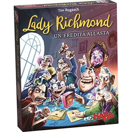 HABA - Scatola Italiana - Lady Richmond - Un'eredità allâ€Asta - 302865. HA