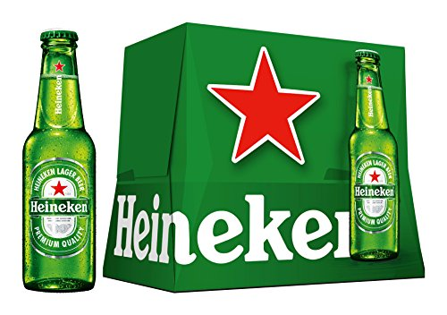 Heineken Beer - Pack 12 Bottles 250 ml - Total: 3 L