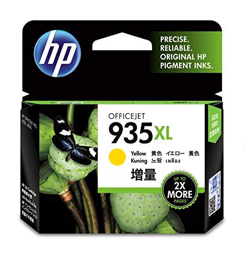 HP 935XL Cartucho de Tinta Amarillo 9.5 ml - Cartucho de Tinta para impresoras (Original, Amarillo,...