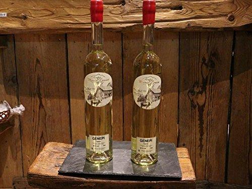 Weißer Genepy Likör - Kräuter-Likör aus den Französische Alpen Genepi Blanc White - Alkohol-Gehalt 50 Vol.-{d98b1776a3e6e9a12394cb2833347e10b5fcff0fb6742fb689cc64301c450612} - 0.7l