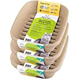 Kitty Sift Disposable Sifting Litter Box Liners (Large, Pack of 12), Plastic Free