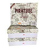 Tubes Piratube | 3000 tubes à cigarette avec filtre (3x1000) | Boite rigide