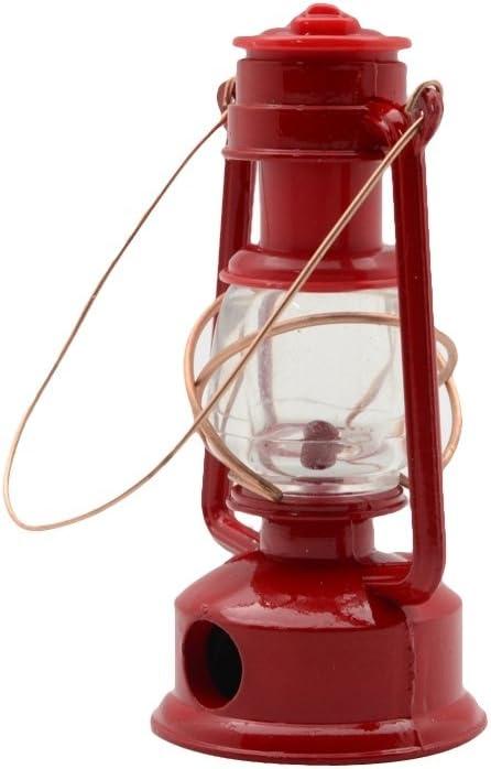 Treasure Gurus 1:4 Scale Miniature Red Gas Camping Lantern Pencil Sharpener