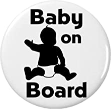 Baby on Board Pinback Button Pin Symbol Sign