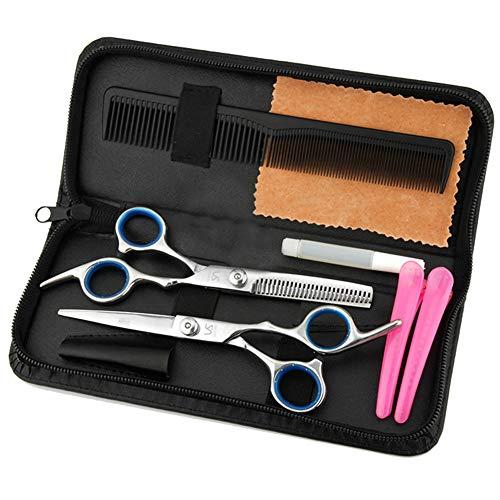 Professionnel de Coupe de Cheveux Ciseaux de Salon de Coiffure Ciseaux de Barbier Avec Vis Fixe Rasoir Bords Sharp