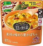 味の素 クノール ポタージュで食べる豆と野菜 素材を味わう栗かぼちゃ 160g ×7個