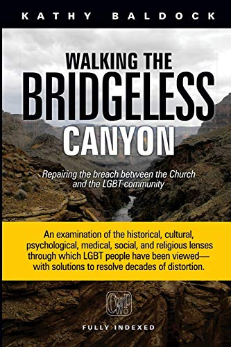 Compare Textbook Prices for Walking the Bridgeless Canyon: Repairing the Breach between the Church and the LGBT community  ISBN 9781951136017 by Baldock, Kathy