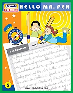 Frank EMU Books The Complete Cursive Handwriting Module 5 - Hello Mr. Pen - Cursive Writing Book for Kids Age 9 Years and ...