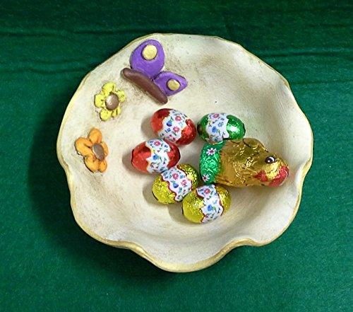 Schalen Tabletts, Schokolade Schüssel Online-Keramik-Schmetterlinge
