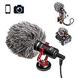 Boya by-mm1Compact della camera shotgun microfono video YouTube Vlogging...