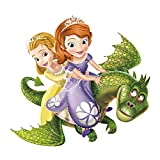 ufengke Pegatinas de Pared Princesa Dragón Vinilos Adhesivos Pared Decorativos para Habitación Infantiles Niñas Bebé