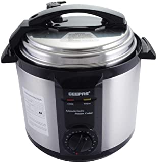 Geepas Silver Pressure Cooker, GPC307